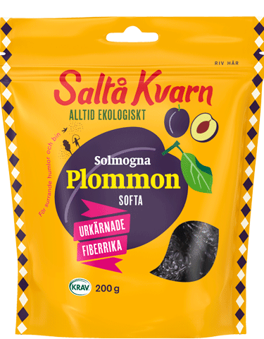 Plommon, softa
